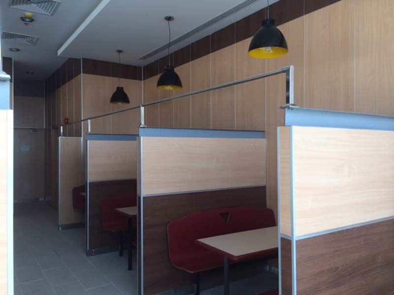 Parqwall kudu restaurant saudi arabia wall cladding