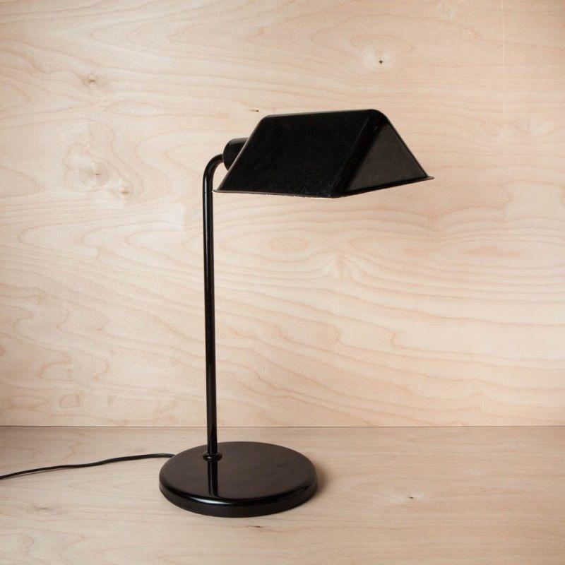Lampe De Bureau Vintage Annees 50 Bicorne Lampe De Bureau Bureau Vintage Lampe