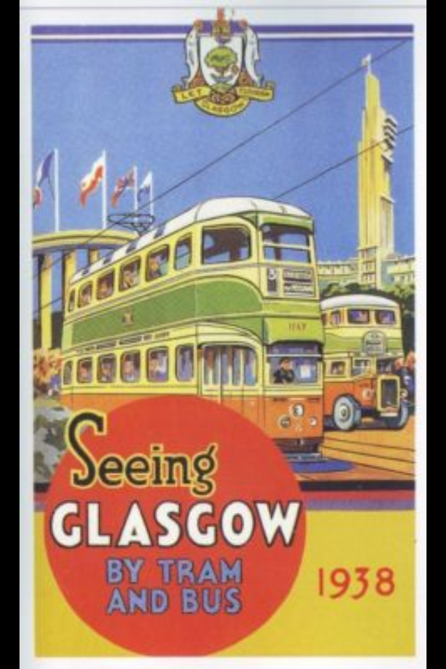 Seeing Glasgow | Travel posters, Retro travel poster ...