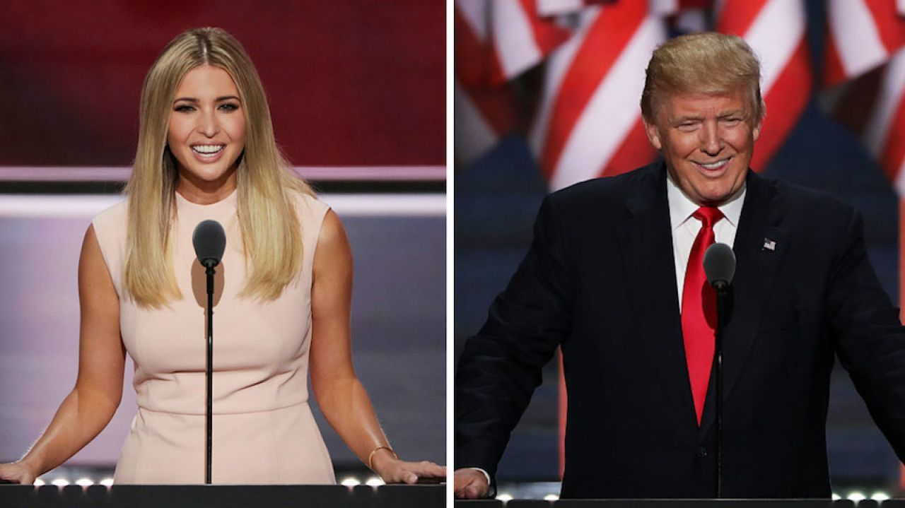 Notable Speeches From The Rnc Donald And Ivanka Trump More Rnc Rudy Giuliani Melania Trump