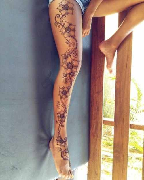 Henna Tattoo Designs, Tattoo Ideen A