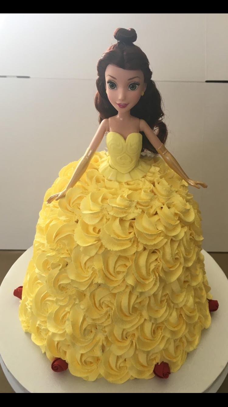 Beauty and the beast belle cake Disney cakes Pinterest Belle