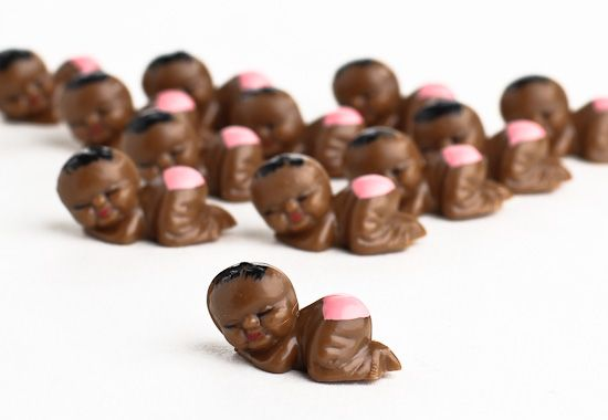 Miniature African American Baby Girl Favors   Itu0027s A Girl!