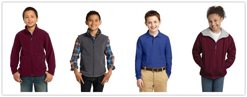 Port Authority Fall Apparel for Youth from NYFifth