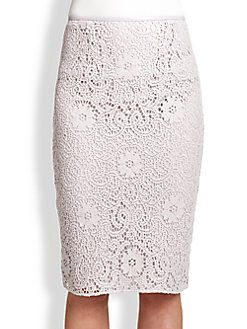 00a268753a Burberry London - Crochet Lace Pencil Skirt | Clothes in my Closet ...