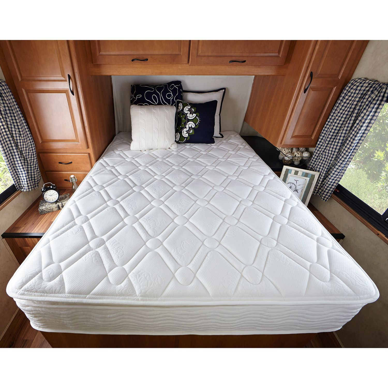 Zinus Night Therapy 10 Quot Pillowtop Icoil Spring Rv Short