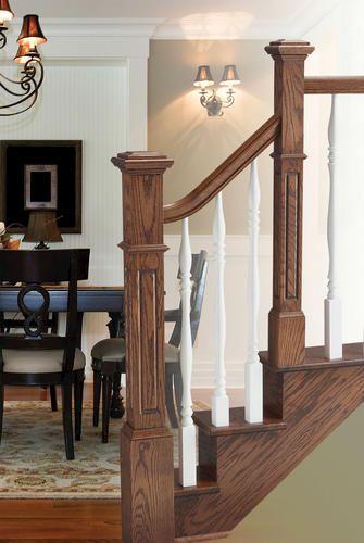 Colonial Elegance 174 Premium 4 Quot X 4 Quot X 49 7 8 Quot Oak Stair