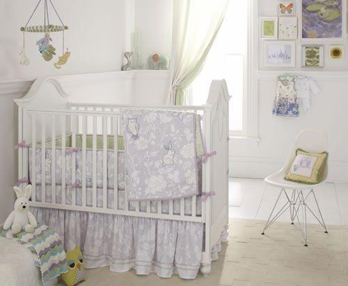 Bird Of Paradise Crib Bedding Set