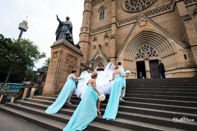 Nadasha Aaron Get Married In Style At St Marys Cathedral Reception Waterview Bicentennial