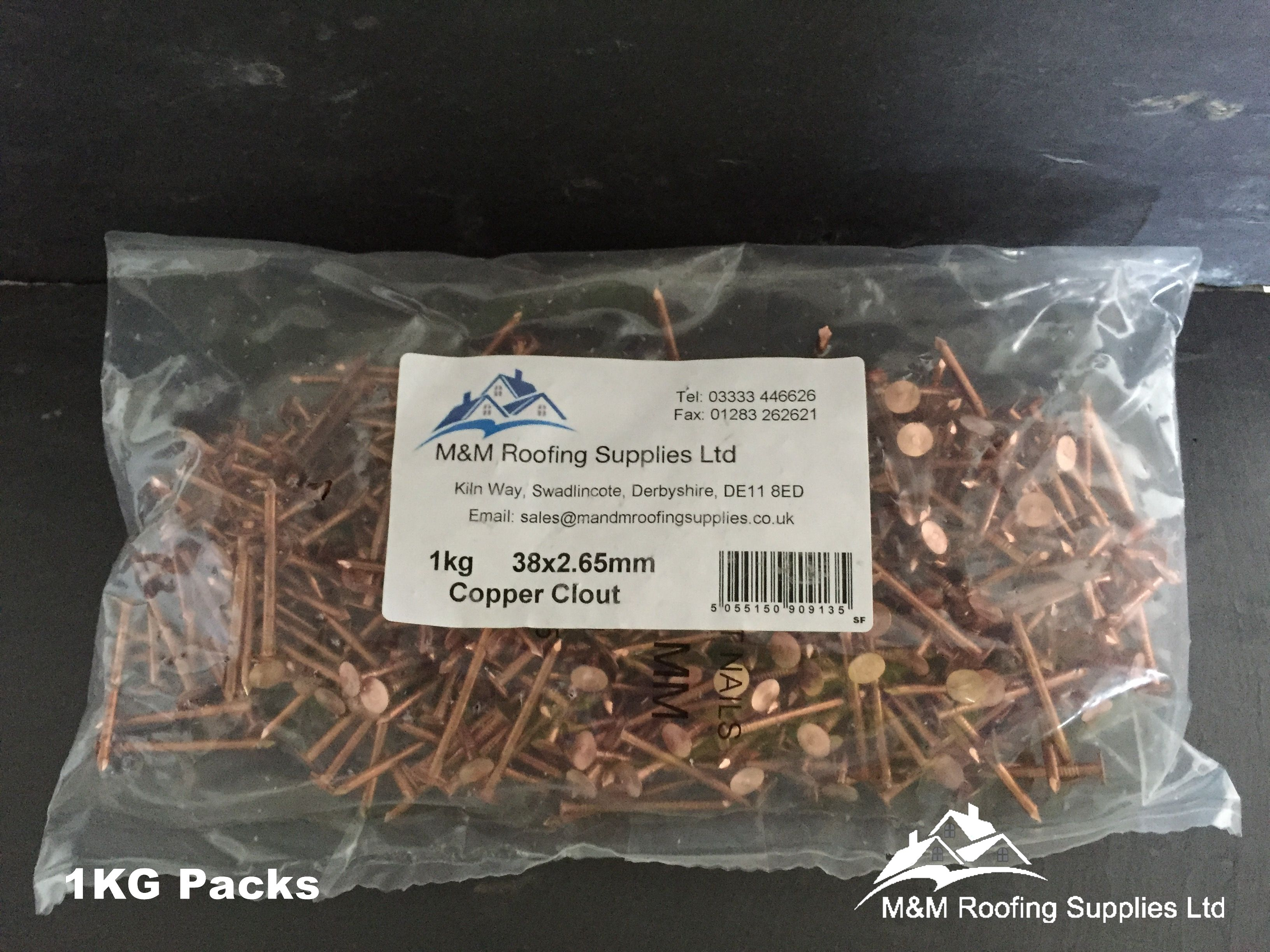 Pin On Copper Clout Nails Available On Ebay