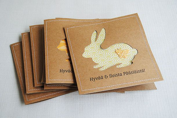 clean & simple easterbunny card | shaker cards | by Anski