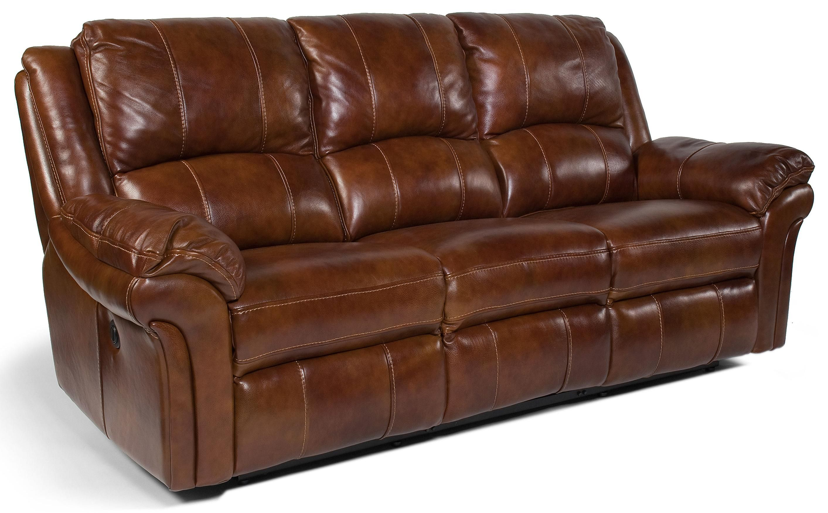 Flexsteel Latitudes  Dandridge Casual Power Reclining Sofa With Contrast