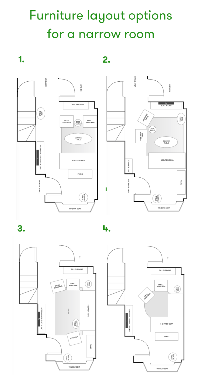 Design Narrow Living Room: How To Layout A Narrow Living Room