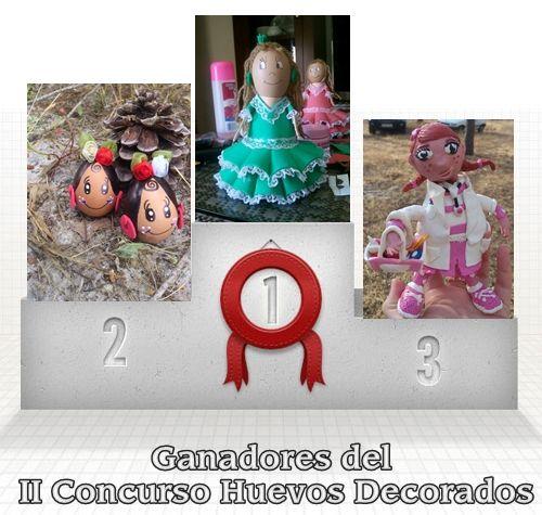 Los ganadores del concurso de HUEVOS DECORADOS Bonares Actual - huevos decorados