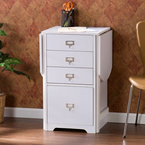 Southern Enterprises Fold-Out Laptop/Writing Desks - Sewing Furniture at Hayneedle