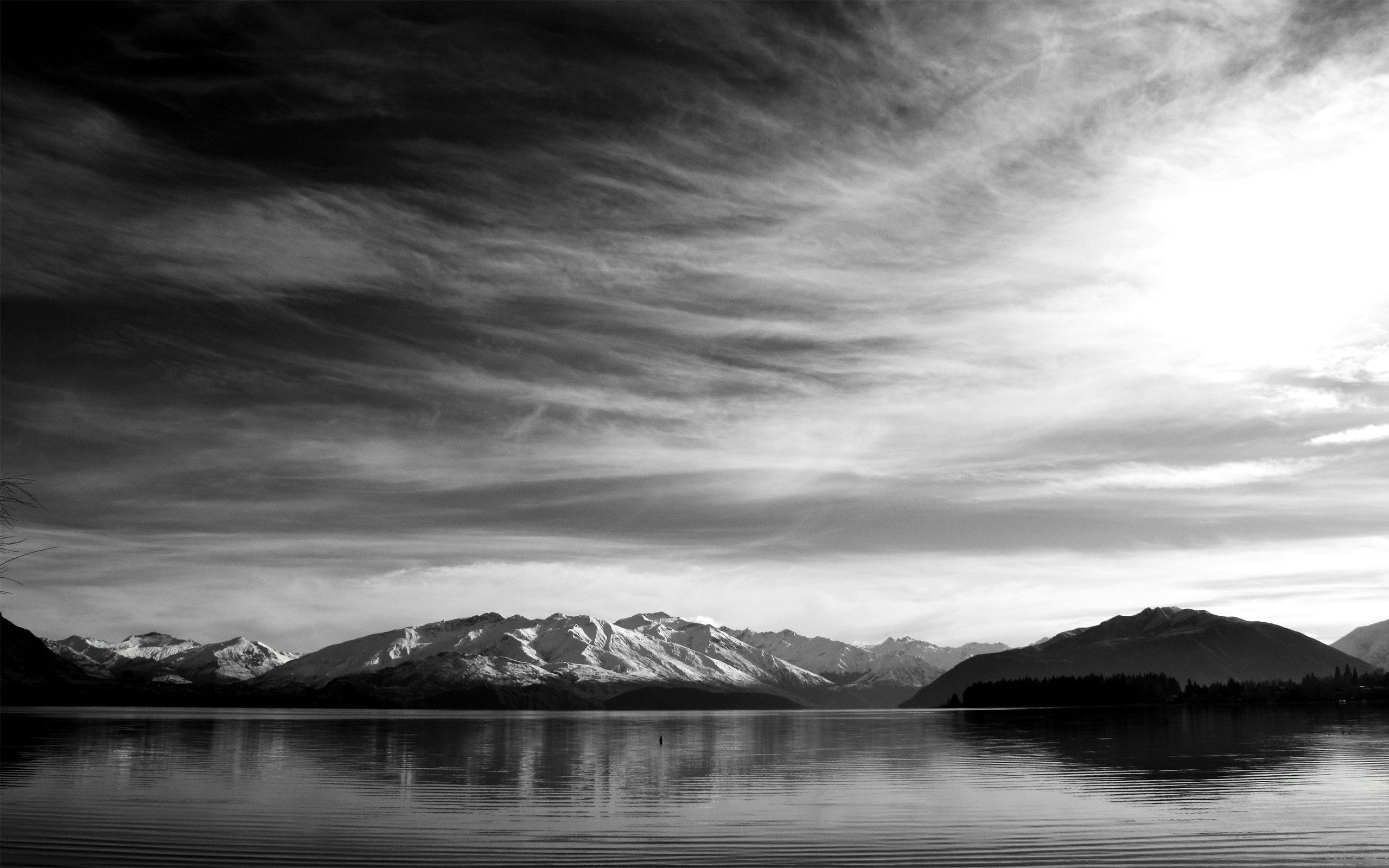 Clear Still Black And White Landscape Nature Photography Nature Wallpaper