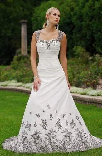 vestidos de novia con flores negras, parte 3 | vestidos de novias en
