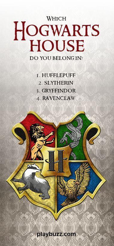 Hogwarts House Quiz Buzzfeed