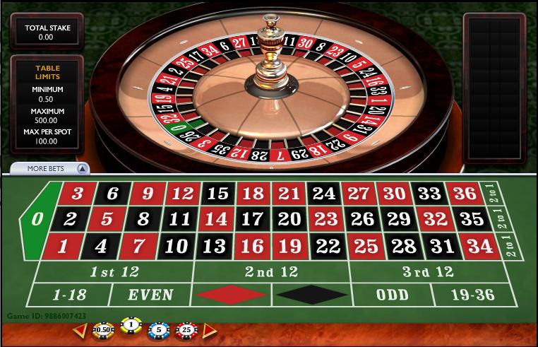 Online Casino Spielgeld Roulette