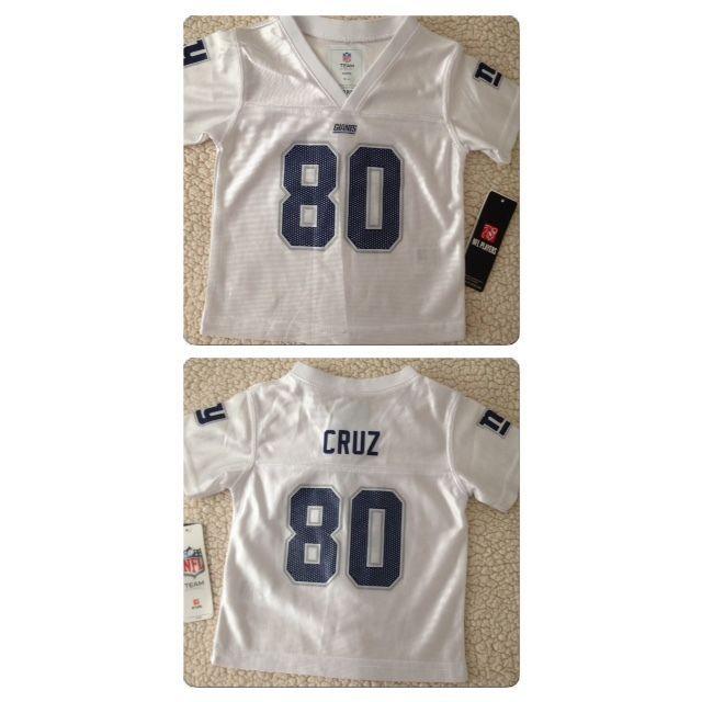 wholesale dealer 96de9 541b5 Baby Toddler Girls Youth NY Giants Victor Cruz Nike White ...