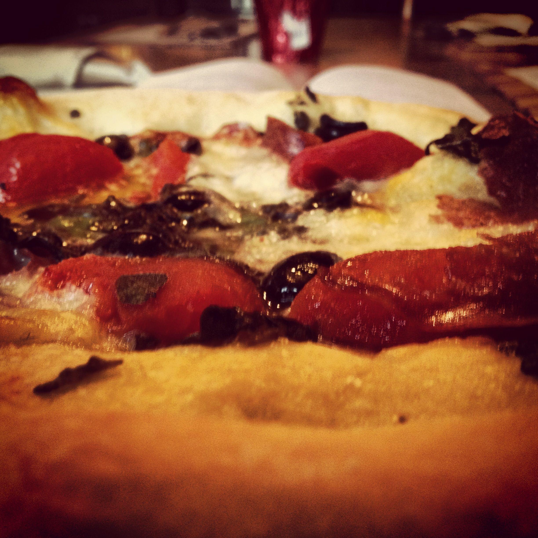 Margherita con olivi per pranzo