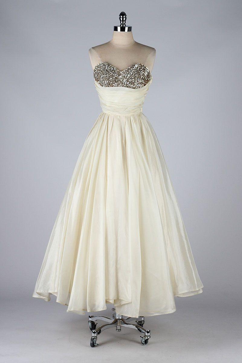Vintage gown by emma domb us my style pinterest vintage