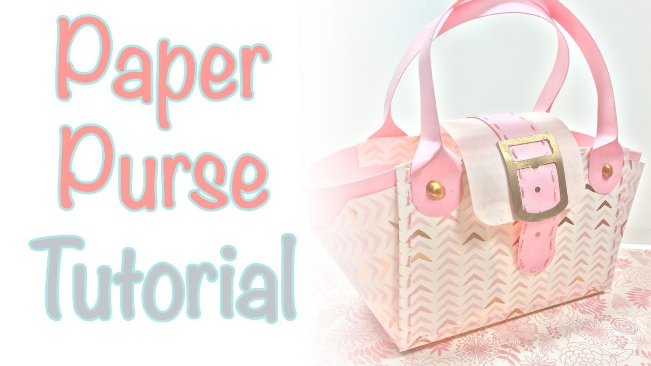 117544ee1 Paper Purse Tutorial | Craftiella Designs | Cards-Handbags | Paper ...