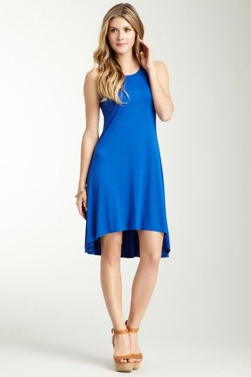 Three Dots Hi-Lo Tank Dress by Summer Spotlight on @HauteLook