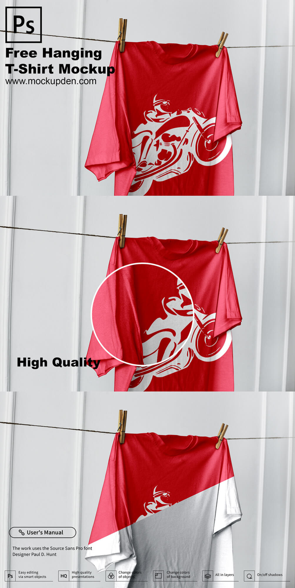 Download Free Hanging T Shirt Mockup Psd Template 1 Shirt Mockup Tshirt Mockup Mockup Psd