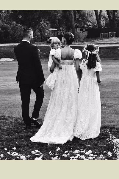 Die schönsten Brautkleider der Stars | einfaches Brautkleid, Die ...