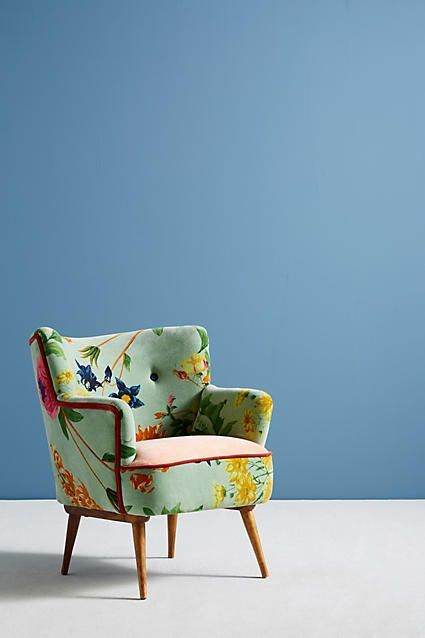 Floret Petite Accent Chair In 2019 Accent Chairs