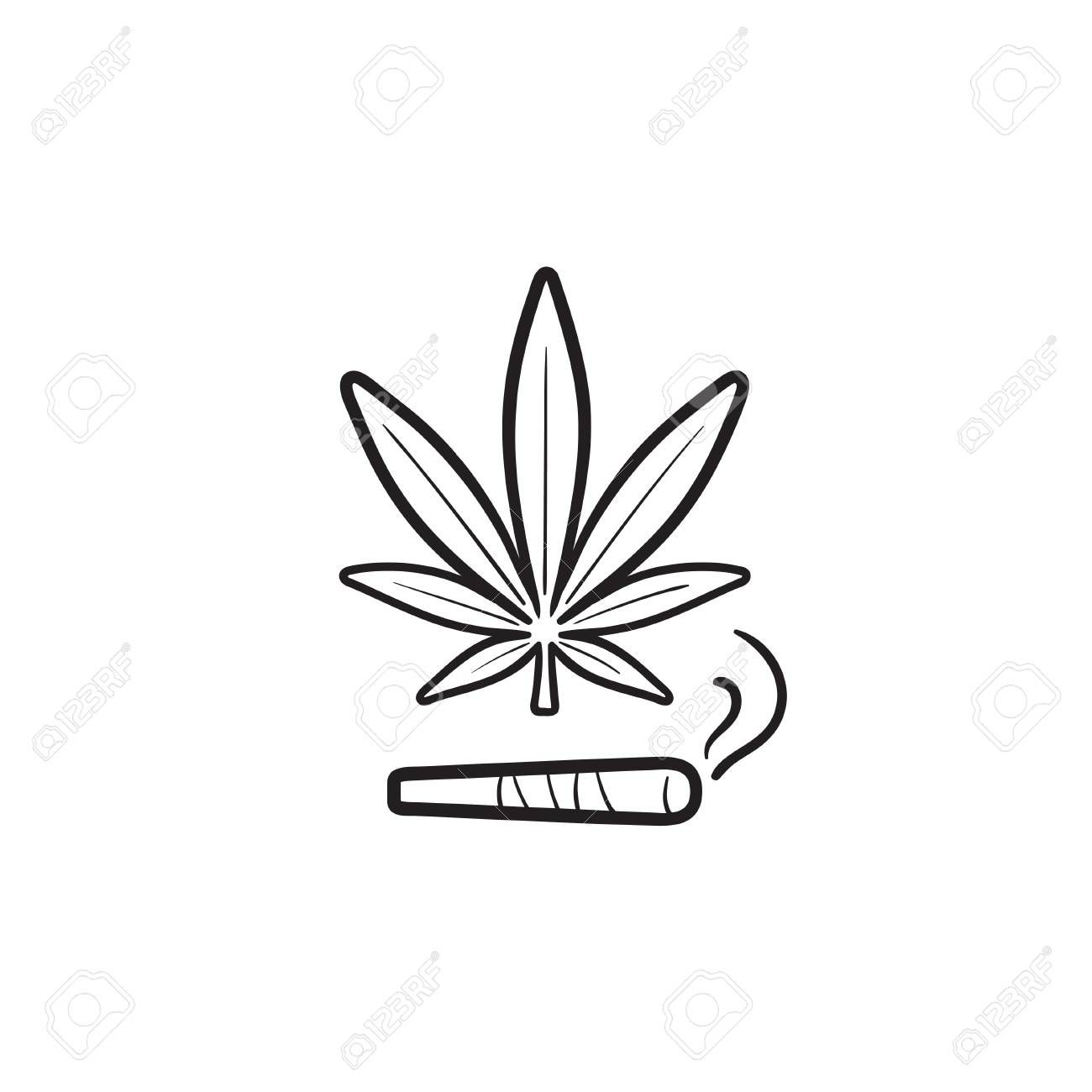 50++ Marijuana leaf clipart black and white information