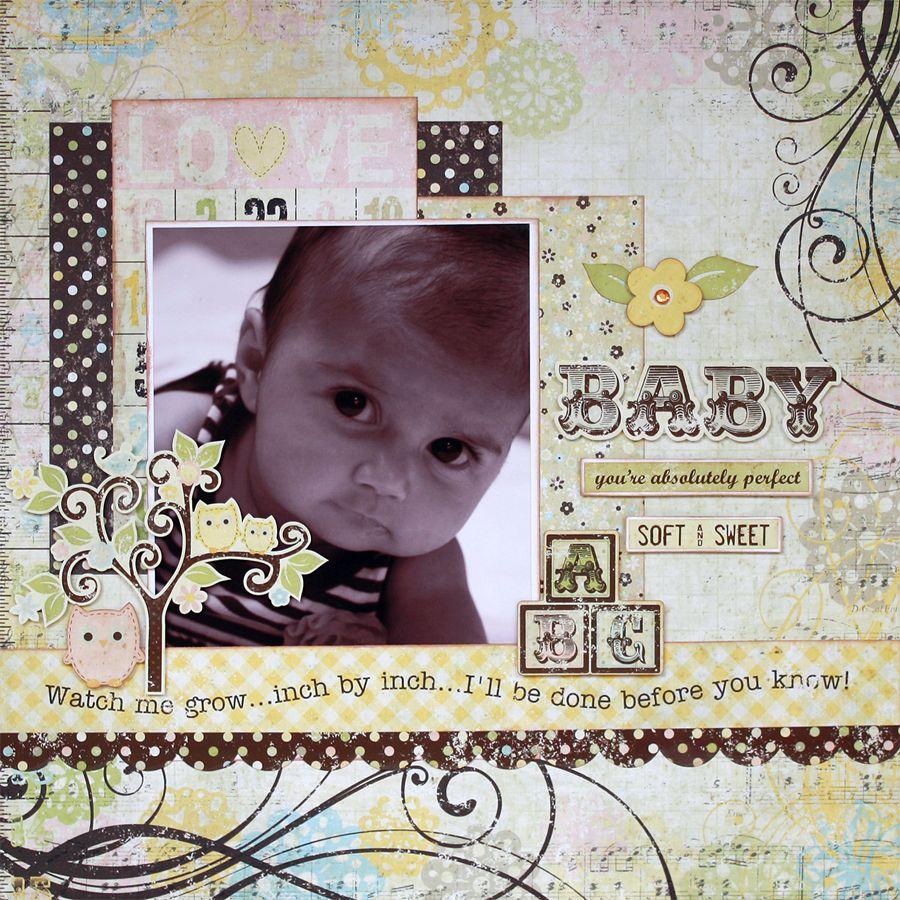 Baby *Simple Stories* - Scrapbook.com