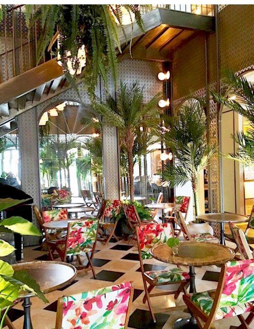 Habanera Restaurant Centro Colon Madrid Increible Proyecto Del Estudio De Arquitectura Salones Tropicales Diseno De Tienda De Cafe Interiores Del Restaurante