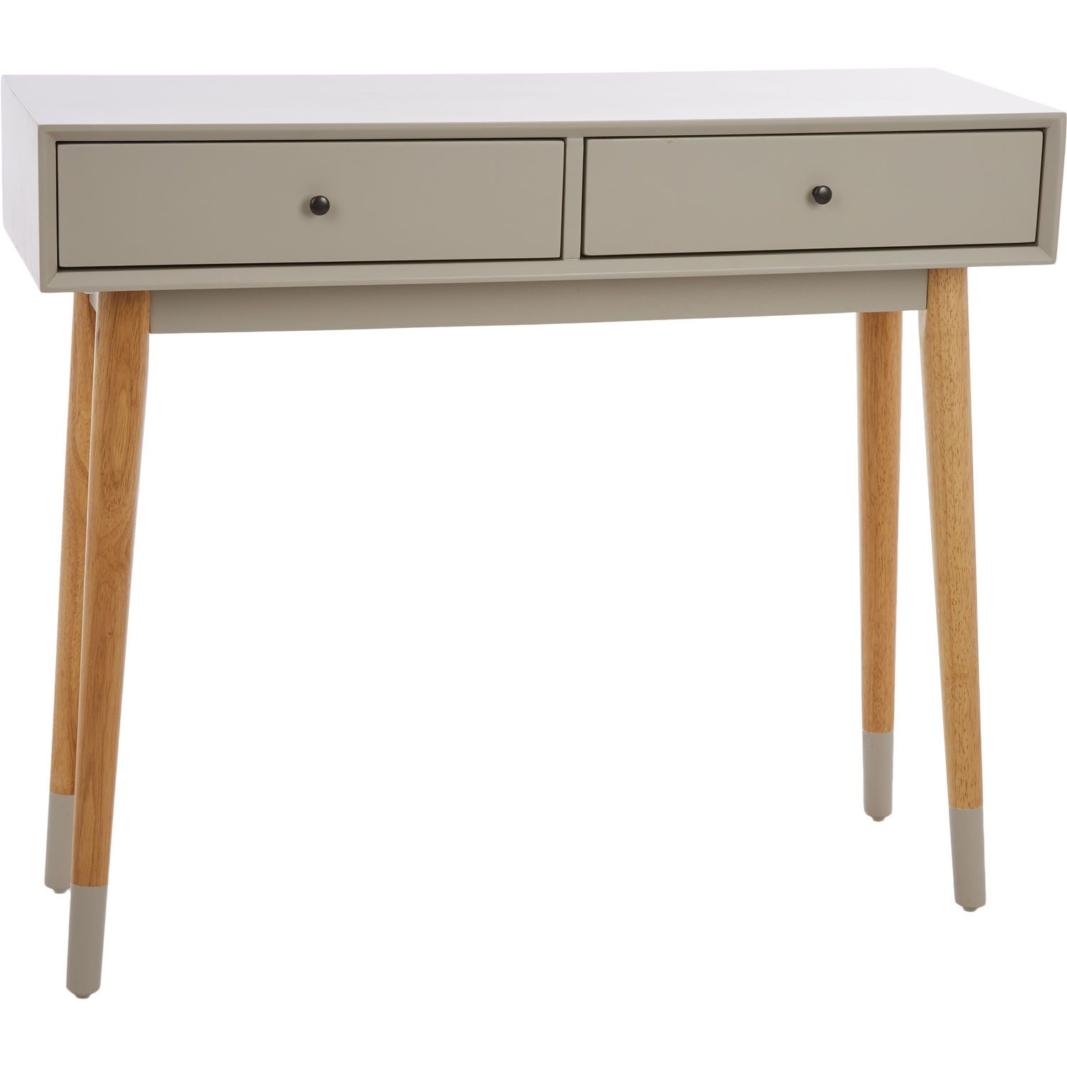 Grey Console Side Table 90cm Living Room Home Tk Maxx
