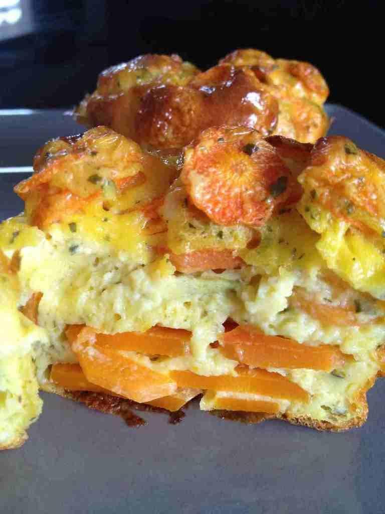 Flan carottes et curry