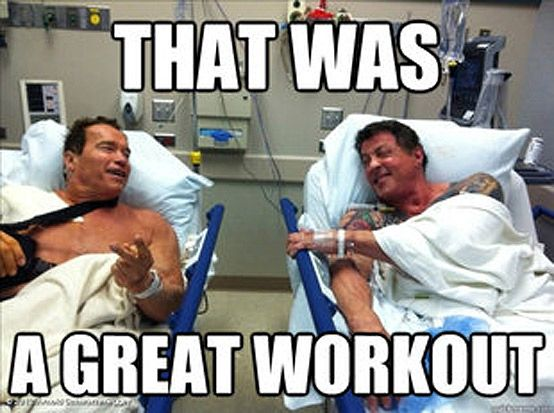 Workout Motivation Meme Funny : Arnold lifting meme google search all day errrrr day pinterest