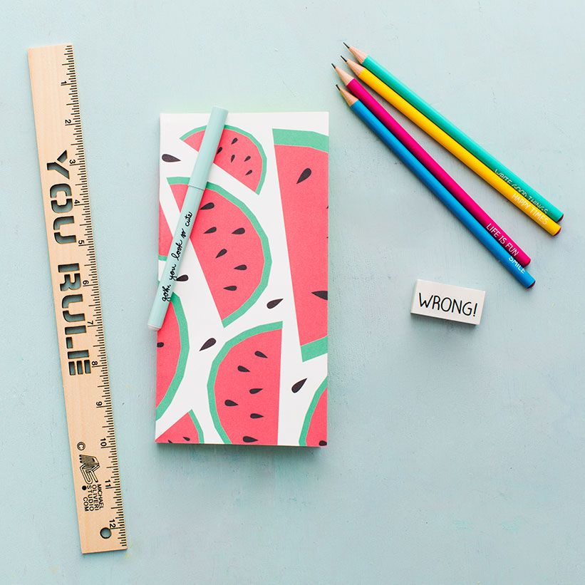 DIY Journal: Summer is all about making memories that will last a lifetime. Follow this tutorial that shows you how to make journals with summertime print covers. It takes a little time and patience, but the payoff is *so* pretty.