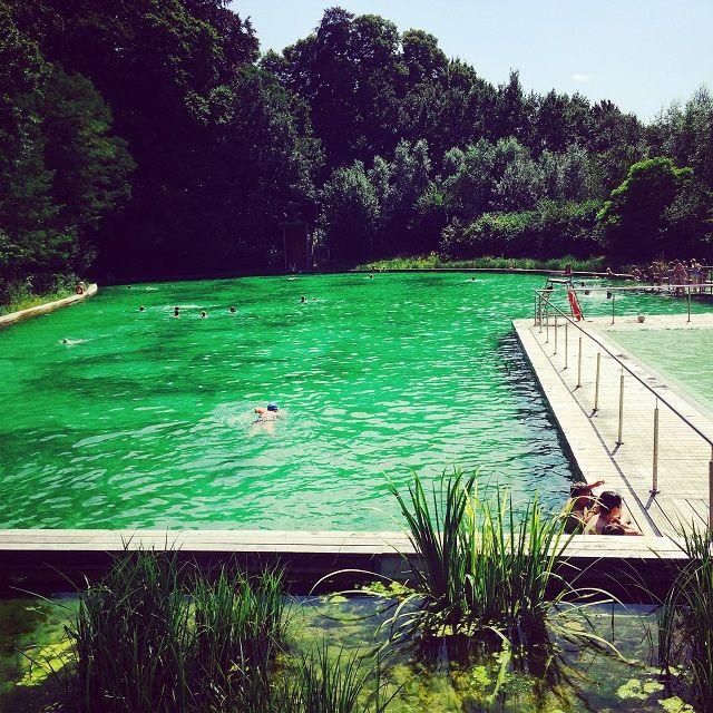 Buckets · Natural Swimming Pool ...