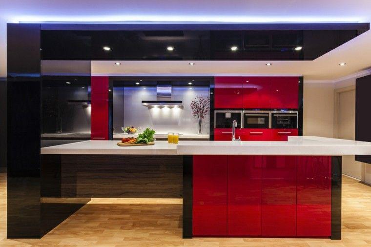 Cocinas Modernas Con Isla 100 Ideas Impresionantes Isla Cocina
