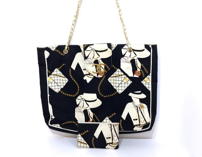 Catawiki online auction house  Chanel - Côte d Azur Shoulder bag - Vintage ce895839cac3d