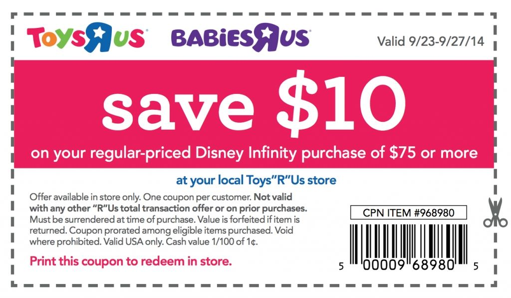 image regarding Babies R Us Coupon Printable named 10 Off 50 Toys R Us Coupon Printable, Which include Toys R Us Discount coupons