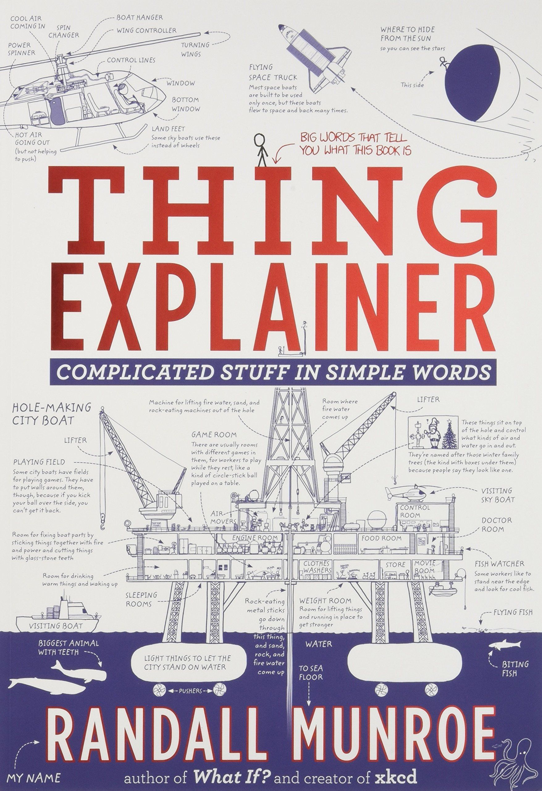 Thing Explainer Complicated Stuff In Simple Words Paperback October 5 2017 Stuff Simple Explainer Complicated Simple Words Big Words Words