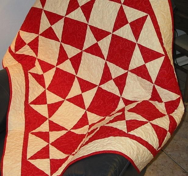 Triangle Galore Lap Charm Quilt Pattern | Quilt designs, White ... : triangle quilt patterns - Adamdwight.com