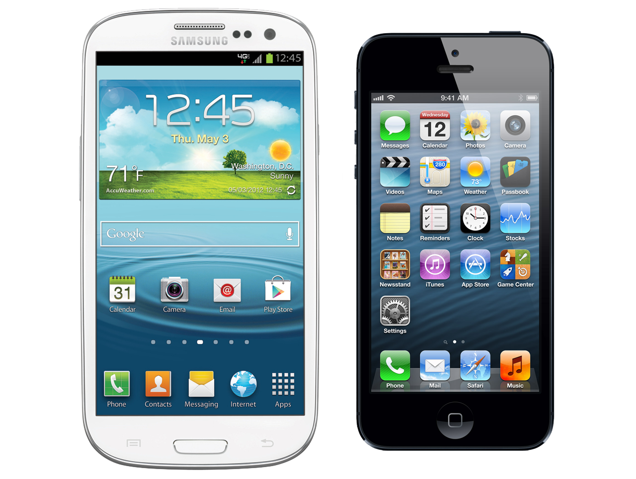 Samsung Sues Apple Over iPhone 5 Telephone History and