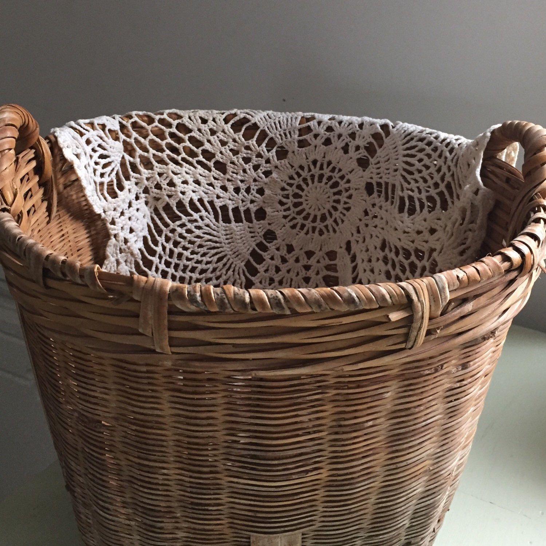 Farmhouse basket farmhouse baskets wicker laundry