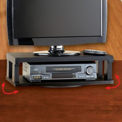 Turntable Tv Stand With Swivel Tyres2c