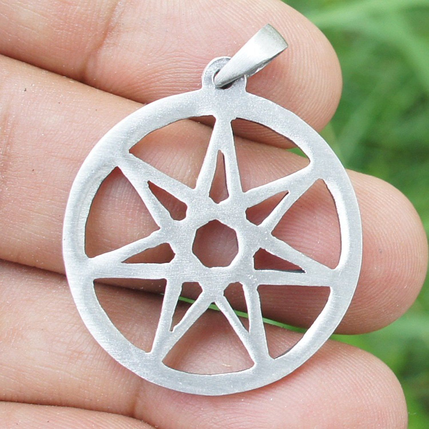 Septagram 7 pointed fairy star heptagram pewter pendant charm amulet septagram 7 pointed fairy star heptagram pewter pendant charm amulet you can find aloadofball
