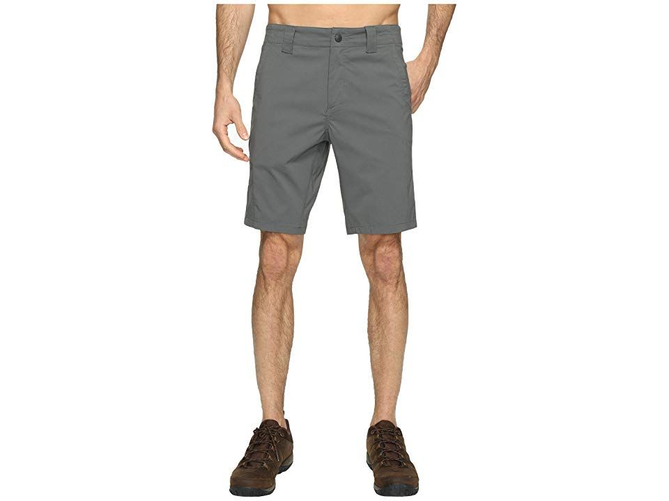 Royal Robbins Everyday Traveler Shorts Charcoal Mens Shorts Escape from reality and take a break while embarking on new adventures with ease in these Everyday Traveler Sh...