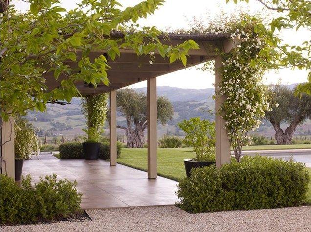 pergola pergola and patio cover andrea cochran landscape ... - Patio Landscape Architecture